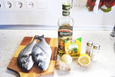 Дорада запеченная в духовке рецепт
