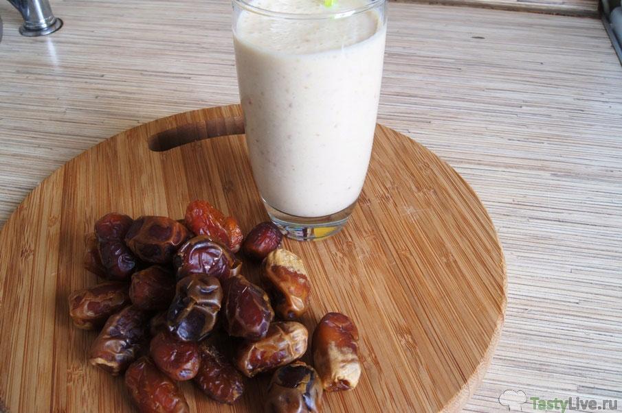Молочный коктейль в блендере