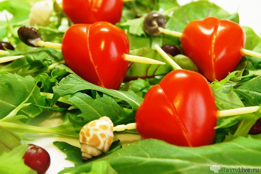 фаршированные помидоры холодная закуска