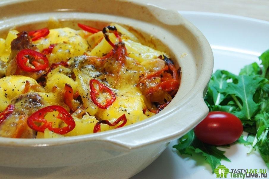 рецепт приготовления жаркого в горшочках