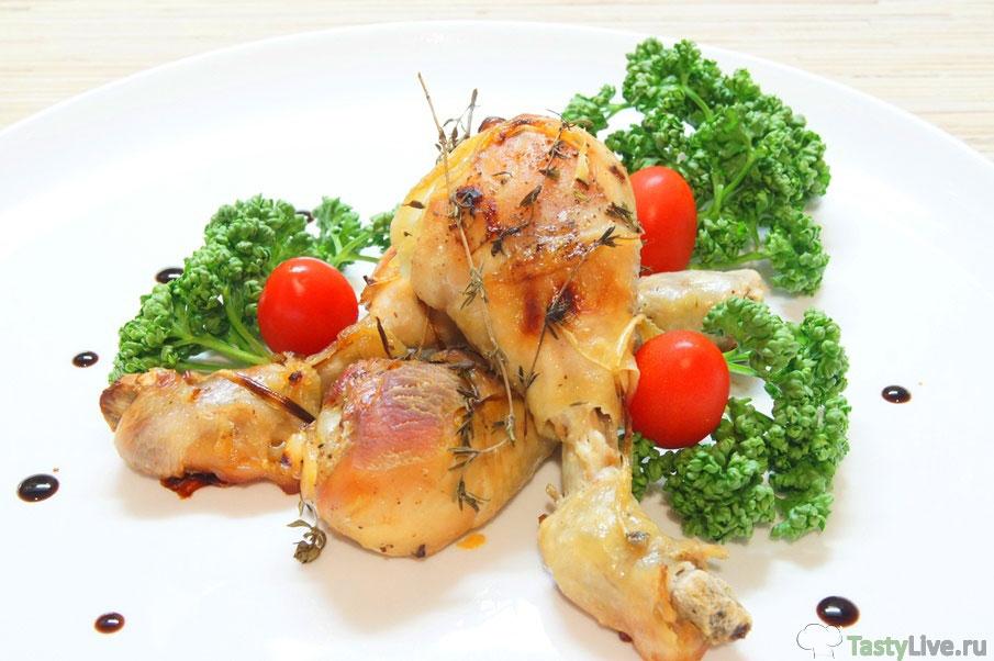 Голень куриная в духовке