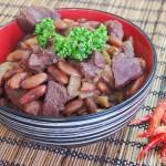 Баранина с фасолью рецепт