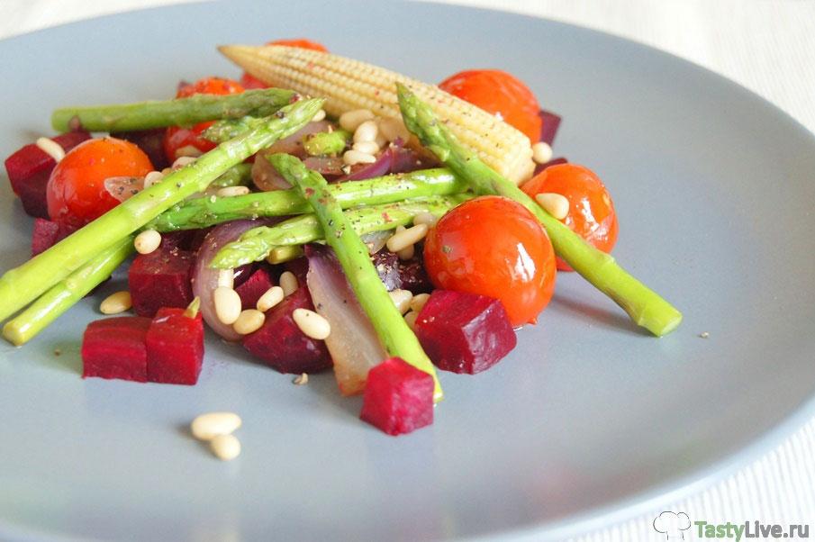 Салат со свеклой рецепт