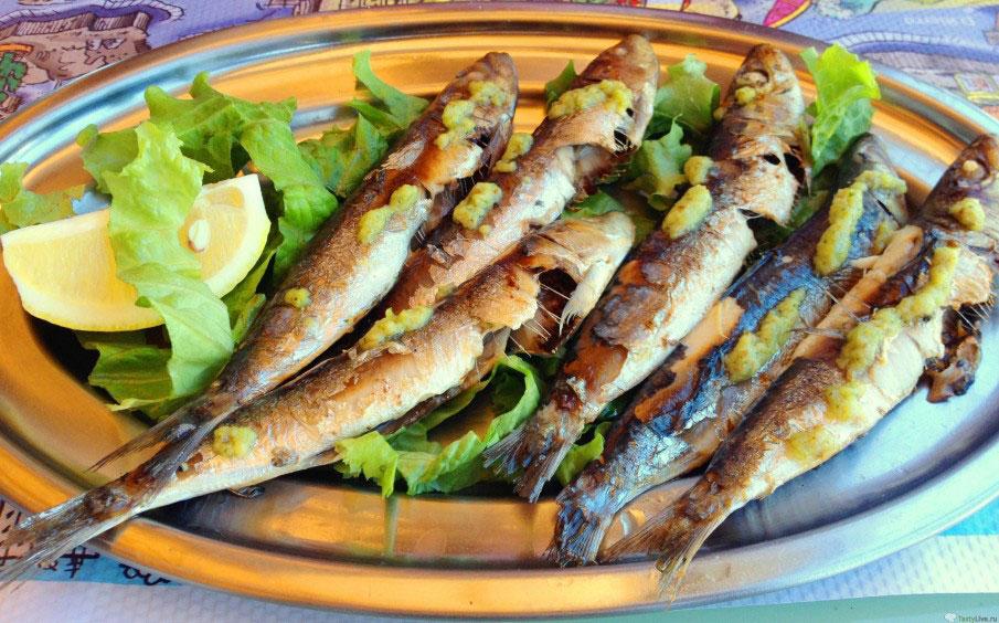 Сардины жареные рецепт