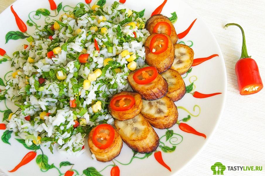 Рецепт зеленого риса