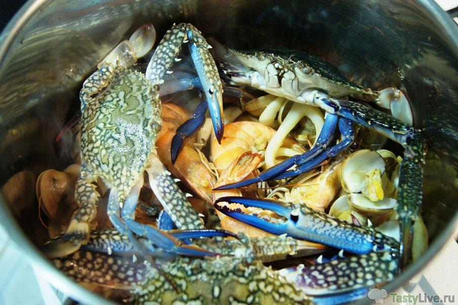 Рецепт приготовления соте из морепродуктов