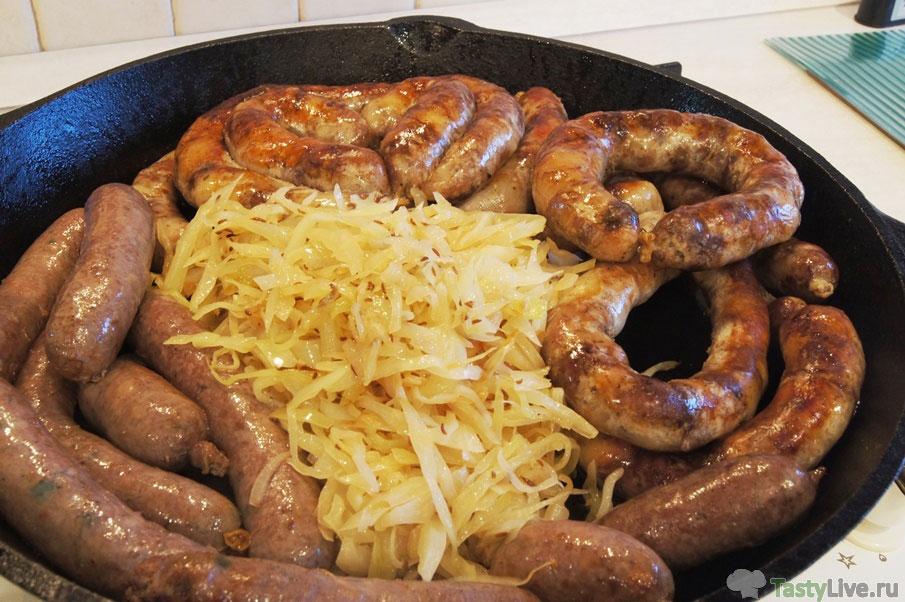 рецепт домашней колбаски