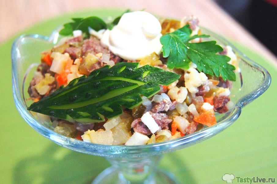 Оливье салат рецепт