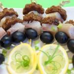 Рецепты канапе с селедкой