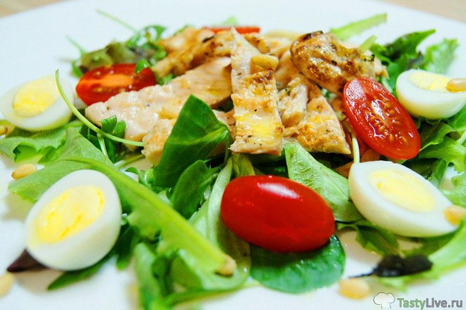 вкусные низкокалорийные салаты