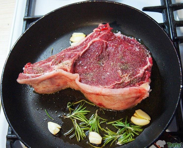 Стейк из говядины на кости, Вкусные рецепты