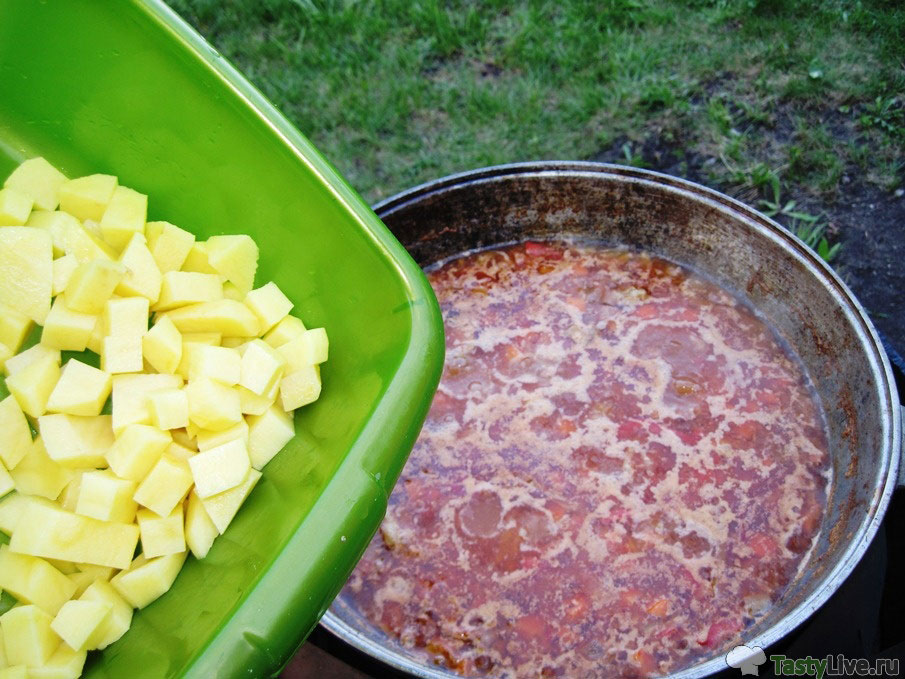 Фото рецепт приготовления лагмана