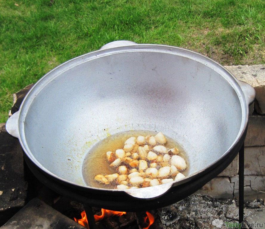 Правильный плов из баранины пошаговый рецепт приготовления