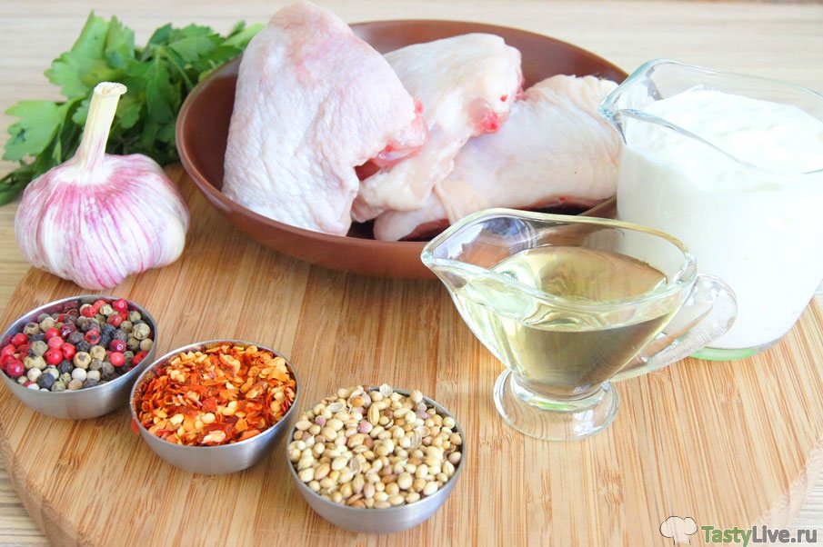 Как приготовить цыпленка чкмерули