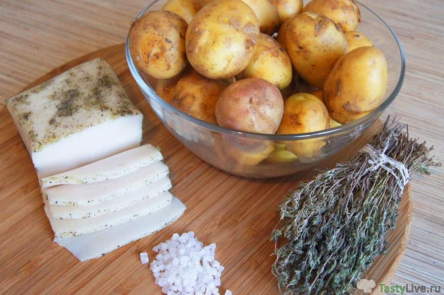 Картошка гриль рецепт