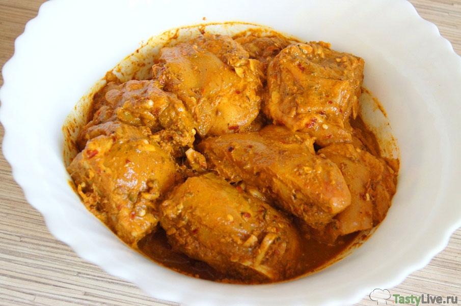 Как приготовить виндалу из курицы