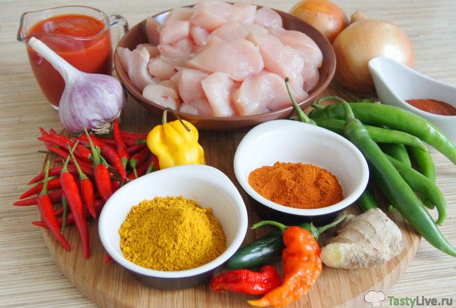 Фото рецепт приготовления карри Пхаал