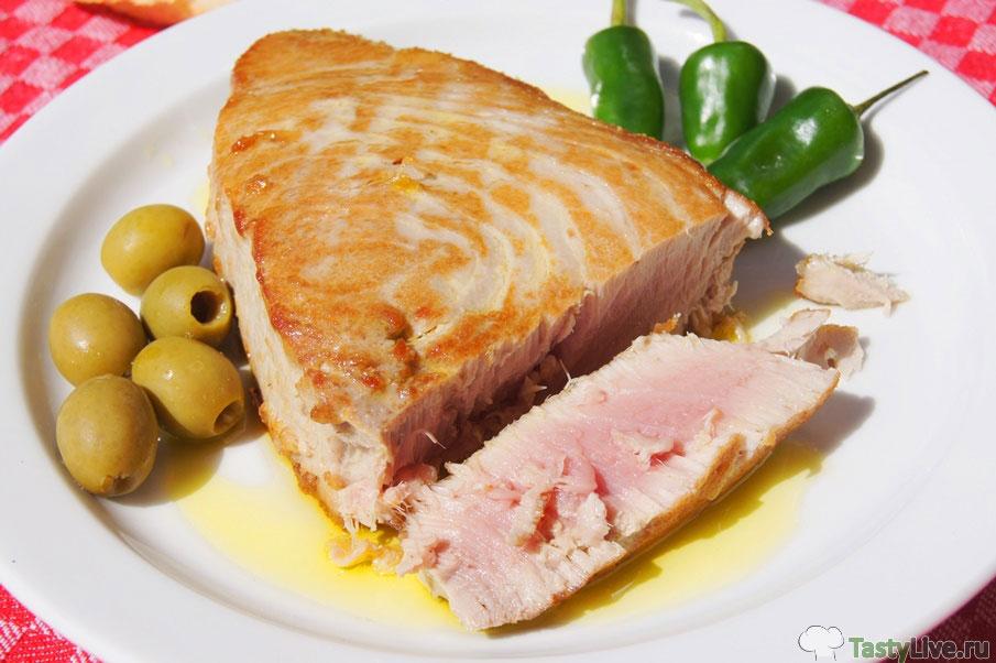 тунец филе рецепты приготовления с фото в духовке