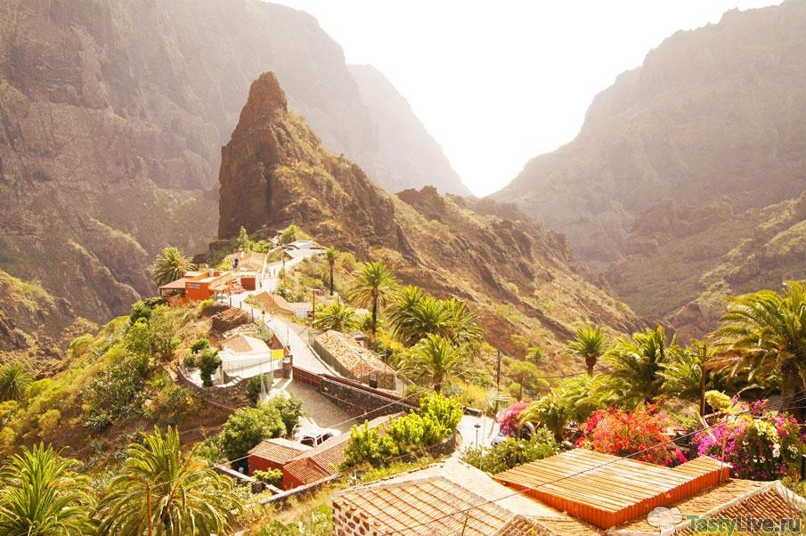 Деревня Маска. Тенерифе