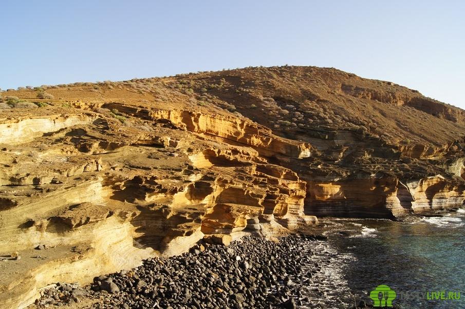 Желтая гора Тенерифе