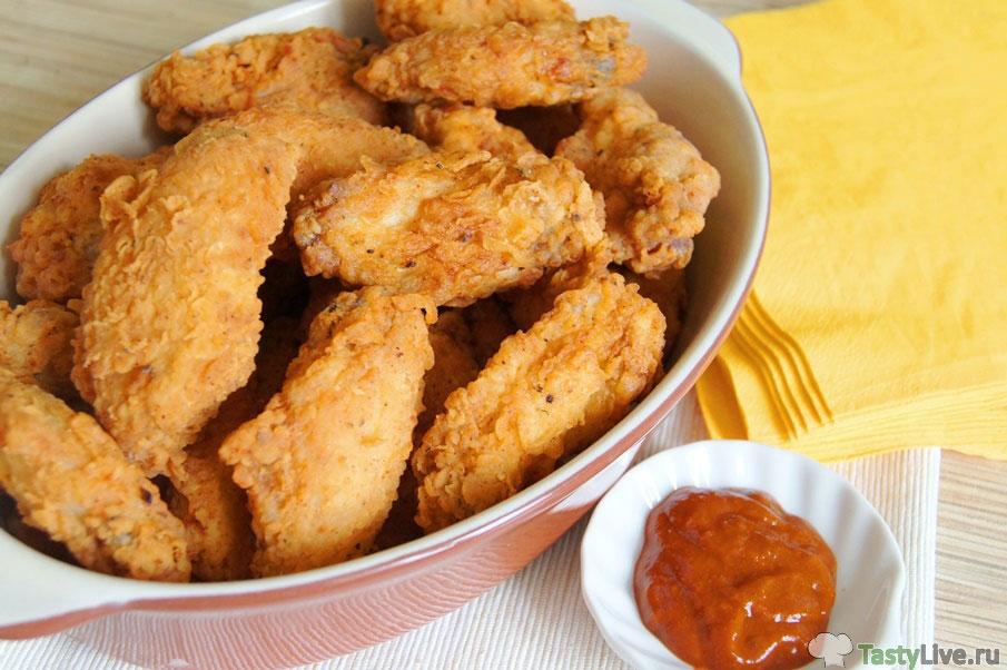 Крылышки как в KFC