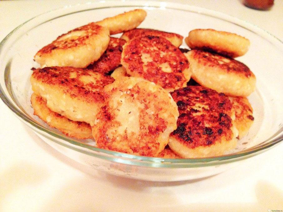 Сырники из творога с манкой