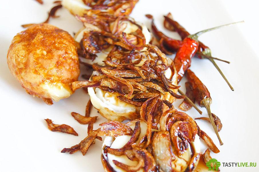 Жареные яйца по-тайски
