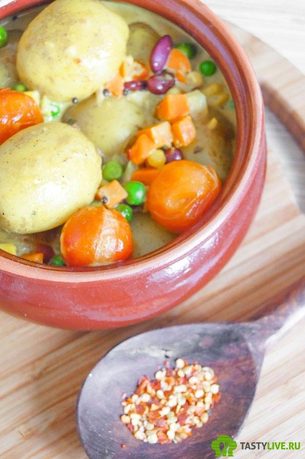 Молодой картофель рецепт