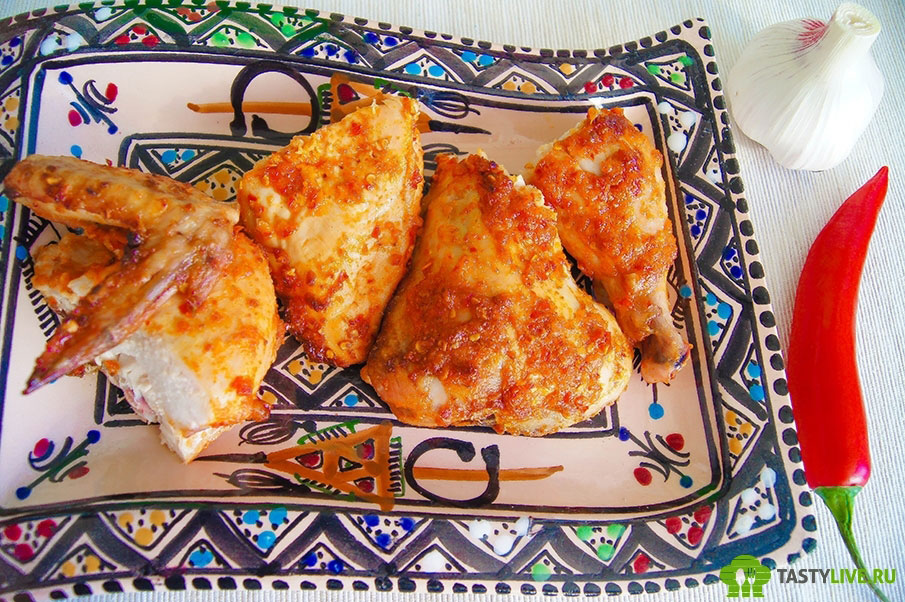 Как приготовить цыпленка пири пири