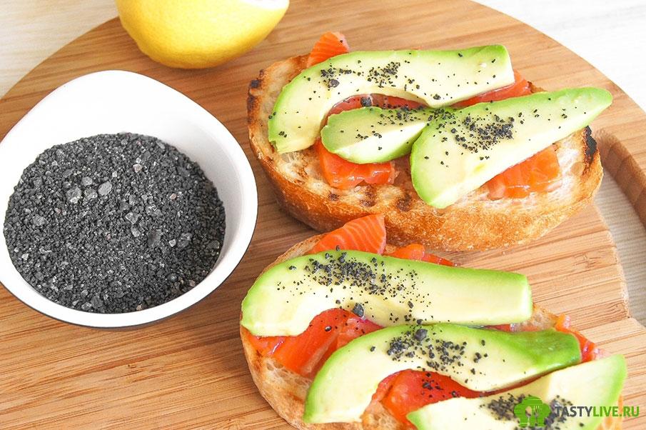 Сандвич с семгой рецепт