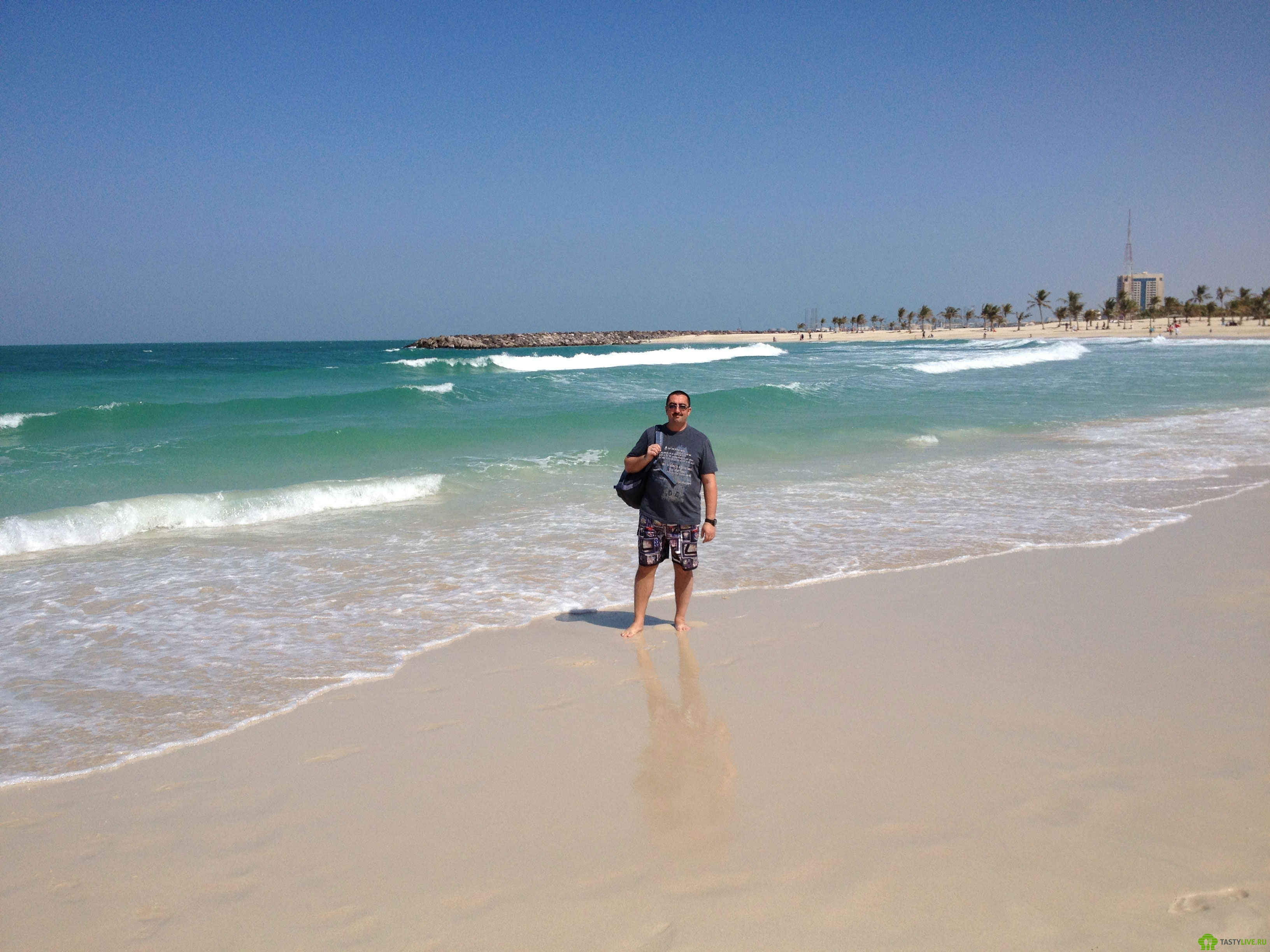 Пляжи Дубая ОАЭ - m