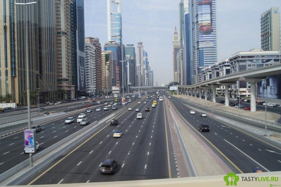 Траффик в Дубаи