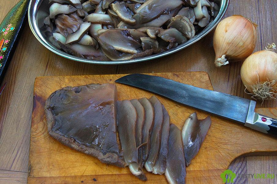 Печеночный гриб рецепт
