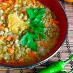 Суп с машем